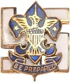 National Executive Board Pin 1910-1919
